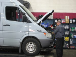 Mercedes Benz Sprinter Repair